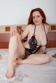 Curvy Redhead Sara Nikol