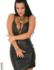 Ilona leather skirt - 01
